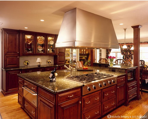 This Tuscan Kitchen Features ...