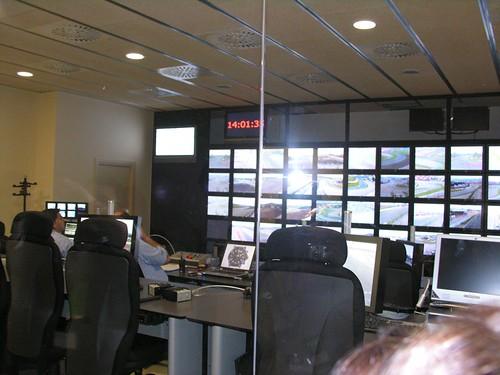 La sala de control