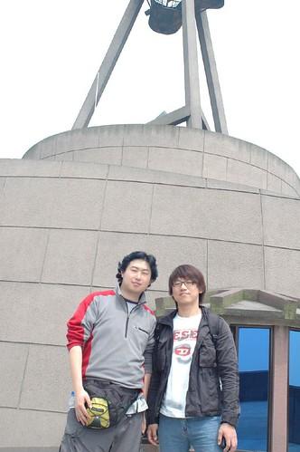 我和韩国哥们的合影
