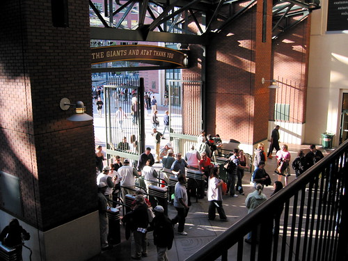 Willie Mays Gate @ AT&T Park