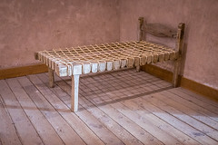 19th Century Bed (Serendigity) Tags: lincoln wildwest historic museum bed newmexico unitedstates usa town bedroom