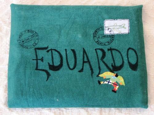 Diário de viagem para Eduardo: envelope - 2007