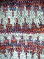 A very warm hat detail
