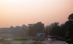 Crematorium at Sunset