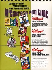 1972 Kellogg's Promo Booklet