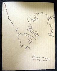 map outline (Allisona) Tags: school maps ancientgreece saltandflour