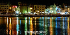Cambrils Night (Nicolas Moulin (Nimou)) Tags: light spain nightlights harbour nocturna cambrils