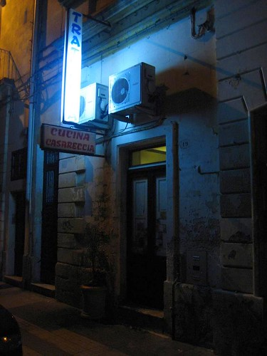 The outside of Trattoria Casareccia