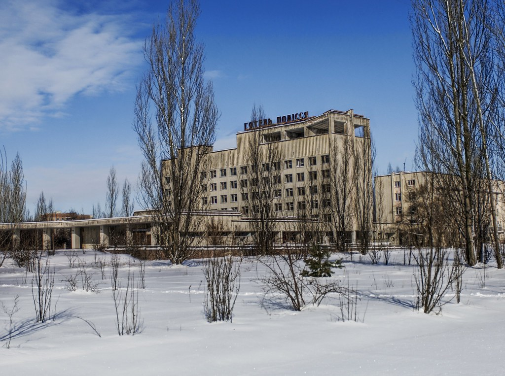 The Ghost Hotel of Chernobyl
