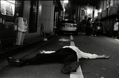 Out (Jim O'Connell) Tags: kabukicho tokyonight spreadeagled kabukichommdc f16v3361