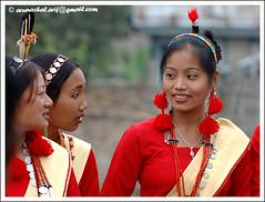 Nocte Girls (Arif Siddiqui) Tags: people india portraits tribes northeast arif arunachal siddiqui arunachalpradesh northeastindia jairampur arunachalpradeshindia arunachali