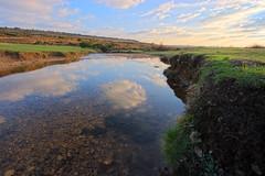Ditchend Brook #4 (Skink74) Tags: uk blue winter sky reflection 20d water landscape hampshire brook newforest hdr canon1022f3545 3xp tthdr subtlehdr ditchendbrook