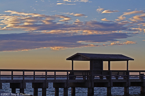 Sanibel Pier; Photography by Troy Thomas