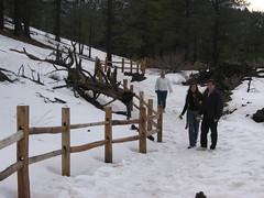 Fence (nickracecar) Tags: arizona sunsetcratervolcano thelongtrail