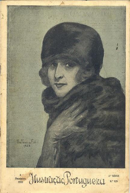 Ilustração Portugueza, 8 December, 1923 - cover