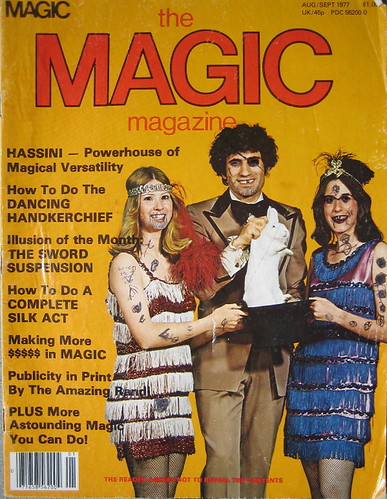 Tom Frank's first Magic Magazine
