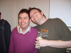 Dave & Matt (petercrosbyuk) Tags: party dave leeds mat