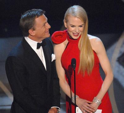 When Nicole Kidman was announced to present an Oscar (with Daniel Craig),