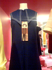 Mary Quant 'Big Toe' dress (1967) (SuperAdaptoid) Tags: cameraphone fashion modern mod dress va 1967 sixties bigtoe maryquant gingergroup