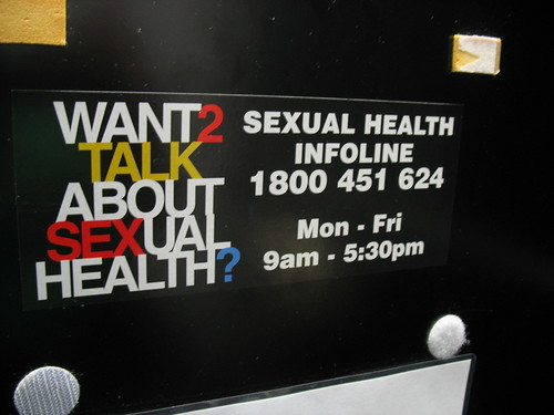 Want 2 talk about sexual health?
