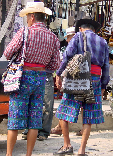 Mayan clothing in Guatemala