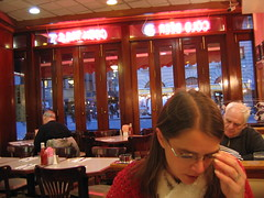 Eating at Applejacks Diner, Broadway... by rmcgervey, on Flickr