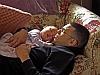 Sleeping granddaughter