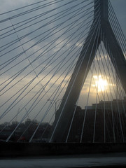 NH/Boston adventure #3 (jungalero) Tags: earlymorningsun coolbostonbridge wishiwasstillinbedwhenthiswastaken