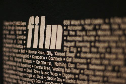 SXSW - Film t-shirt detail, from Aeioux on Flickr