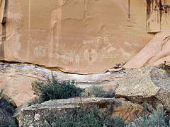 Sego Canyon (bclee) Tags: utah canyon ute rockart pictograph sego nikoncoolscanived