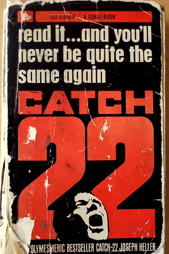 Catch-22 by Joseph Heller, book cover.