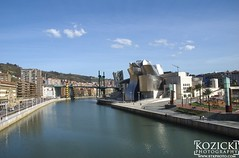 Bilbao on the river (btkphoto) Tags: spain bilbao guggenheim