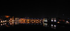 Pont Neuf Bridge (Chor Ip) Tags: bridge france reflection night pont toulouse neuf