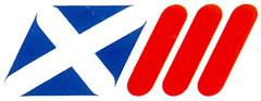 Logo Sukan Komanwel ke-13 di Edinburgh pada tahun 1986