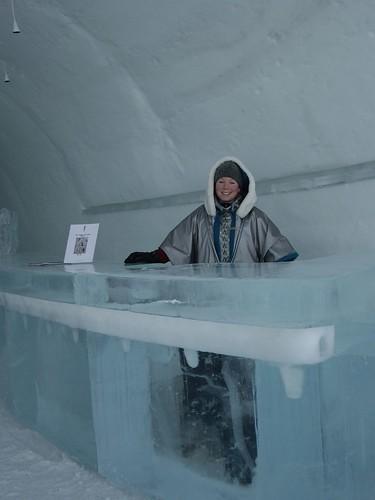 Ice Hotel - Reception