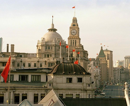 Edificios Antiguos del Bund de Shangai