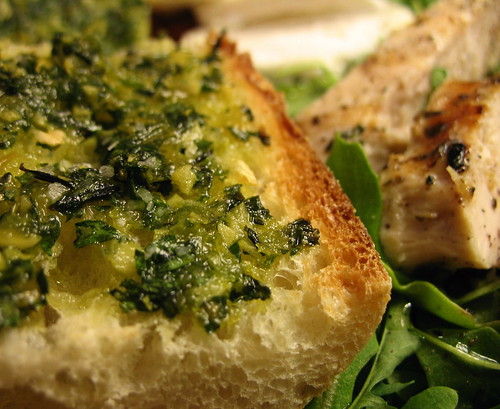 the leftover gremolata