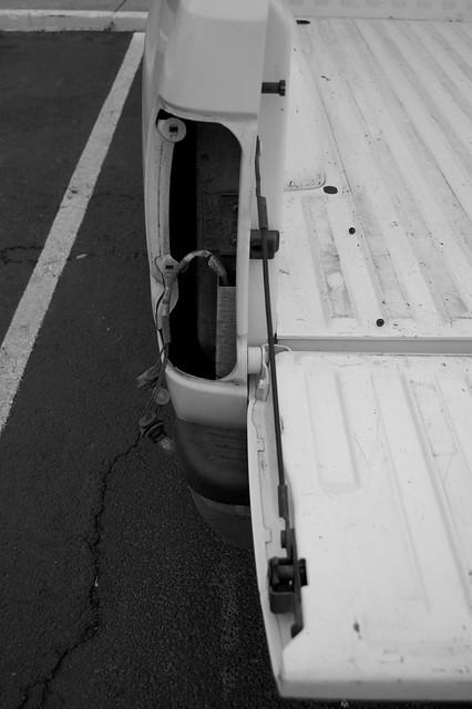 stolen theft taillight dodgeram