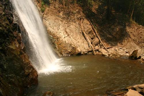 Khun Korn Waterfall. Chiang Rai Province.