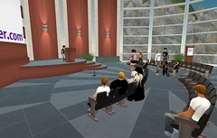 Twittercamp in Second Life, image by Christopher Penn