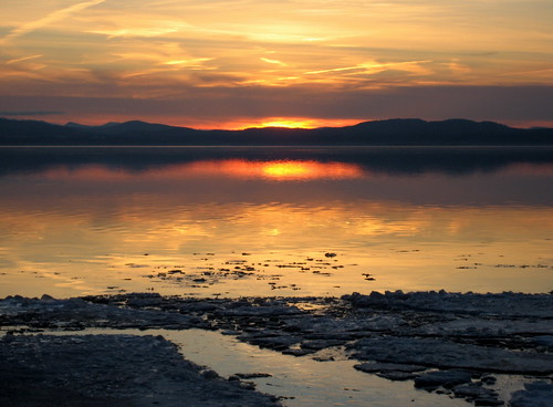 Lake Champlain Sunset #1218