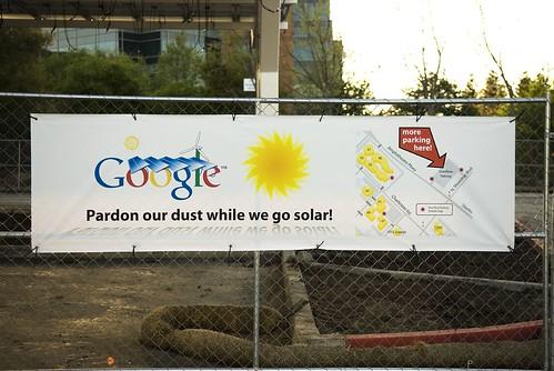 Google goes Solar
