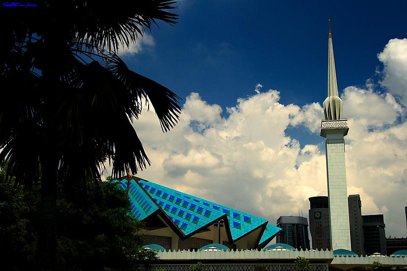 National Mosque @ Kuala Lumpur, Malaysia