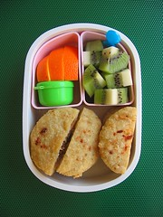 Pupusa lunch for toddler