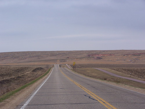 The road out of Luverne (going north)