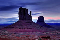 Mitten Morning (James Neeley) Tags: arizona sunrise landscape utah searchthebest monumentvalley soe hdr mittens naturesfinest blueribbonwinner 4xp impressedbeauty goldenphotographer wowiekazowie diamondclassphotographer flickrdiamond jamesneeley lightstylus