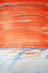 Abstract Art Watercolor - Tungsten Winds (Jose F. Sosa) Tags: original abstract art modern watercolor artwork paint artist expression abstractart contemporary fine paintings drawings canvas mexican american expressionism expressionist abstraction form shape impression selective abstractions abstracted paintigns awardtree josefsosa