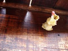 The eaten apple