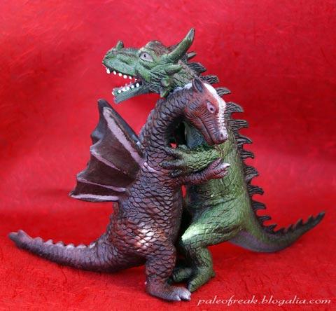 Dragones amantes
