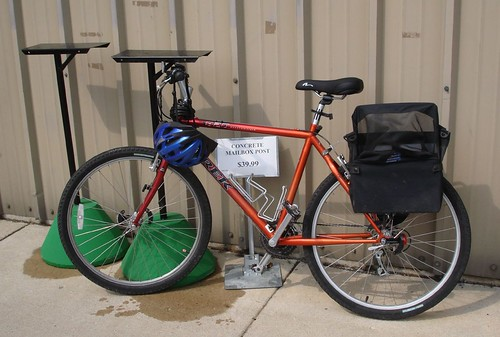 No Bike Rack at Ace Hardware
